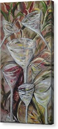 The Winetoast Canvas Print