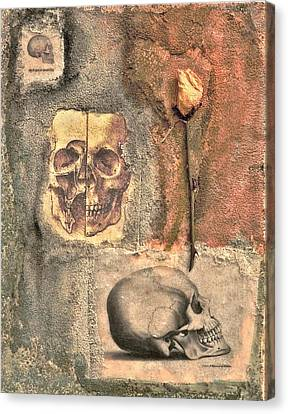 The Tomb Canvas Print by Catherine Conroy
