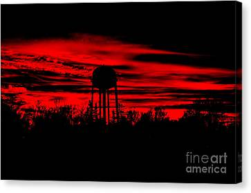 Canvas Print featuring the photograph The Tower by Tamera James