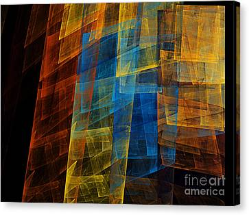 The Towers 1 Canvas Print by Andee Design