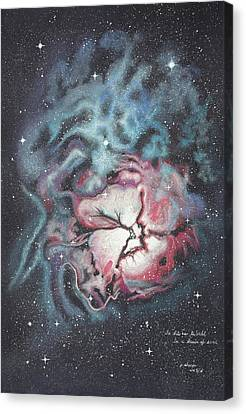The Trifid Nebula Canvas Print by Patsy Sharpe