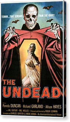 The Undead, Pamela Duncan, 1957 Canvas Print by Everett