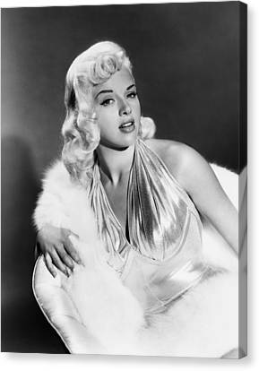 The Unholy Wife, Diana Dors, 1957 Canvas Print by Everett