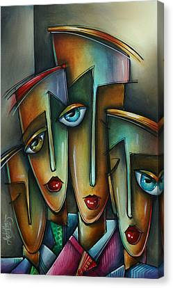 The Union Canvas Print by Michael Lang