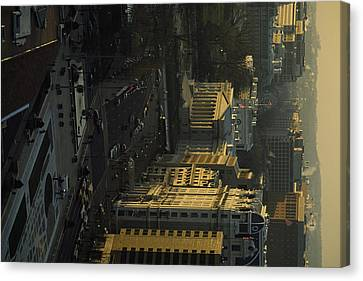 The United States Treasury Obstructs Canvas Print by Sisse Brimberg