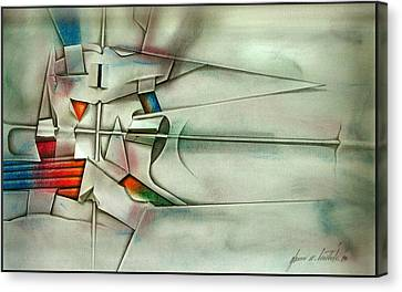 The Unseen - Cross 1989 Canvas Print by Glenn Bautista