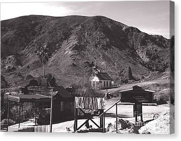 The Upper Village Of Calico Ghost Town Canvas Print by Susanne Van Hulst