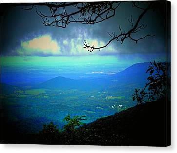 The Valley Canvas Print by Michael L Kimble