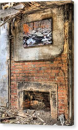 The Value Of Art Canvas Print by JC Findley