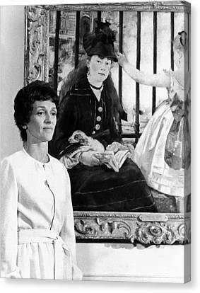 The Vice Presidents Wife, Joan Mondale Canvas Print by Everett