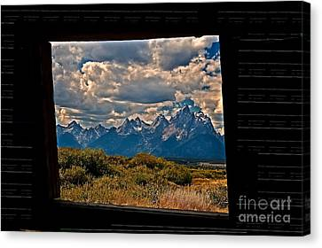 The View Canvas Print by Robert Bales