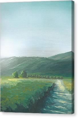 The Vineyard Canvas Print by DC Decker