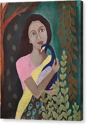 The Wait Canvas Print by Kavitha Harikumar