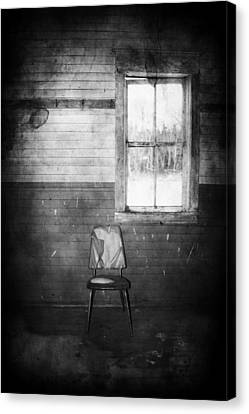 The Wallflowers Seat  Canvas Print by Jerry Cordeiro
