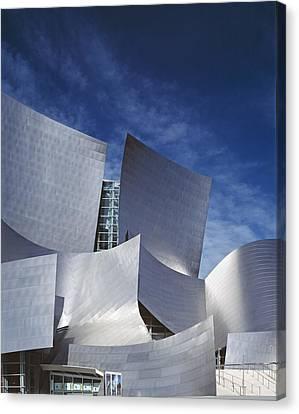 The Walt Disney Concert Hall, By Frank Canvas Print by Everett
