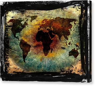The Warning Worlds  Canvas Print