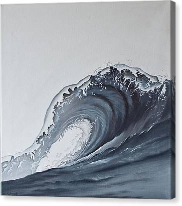 Canvas Print - The Wave by Jan Farthing