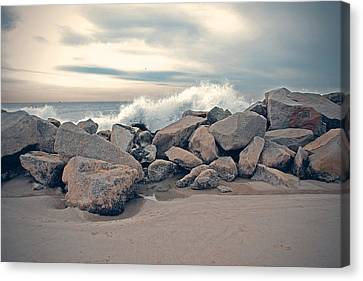 Wild Ocean Canvas Print by Nastasia Cook