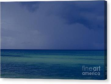 The Weather Is Changing Canvas Print by Heiko Koehrer-Wagner