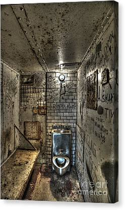 The West Virginia State Penitentiary Cell Canvas Print by Dan Friend