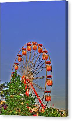 The Wheel Canvas Print by Barry R Jones Jr