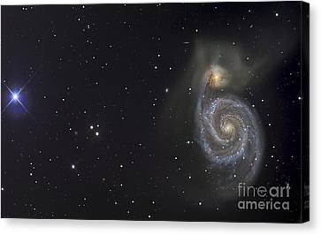 The Whirlpool Galaxy Canvas Print by R Jay GaBany