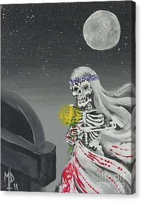 The Widow Canvas Print by Matt Detmer