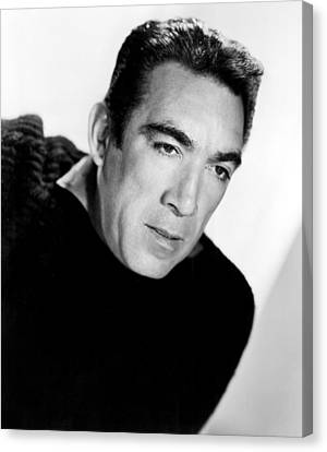 The Wild Party, Anthony Quinn, 1956 Canvas Print by Everett
