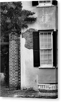 Canvas Print featuring the photograph The Window by Tamera James
