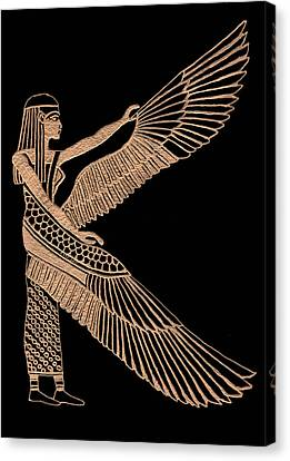 The Winged Isis Canvas Print by Jim Ross