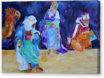 The Wisemen Canvas Print by Suzy Pal Powell