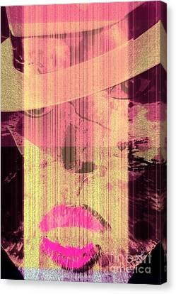 The Woman Canvas Print by Fania Simon