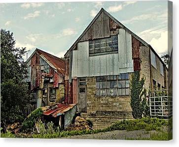 The Woodmill Canvas Print by Julie Williams