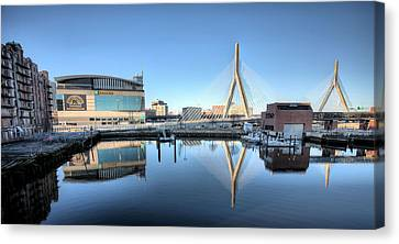 The Zakim Canvas Print by JC Findley