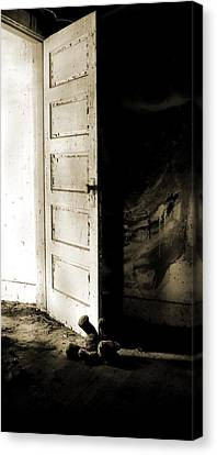There's Something In My Room... Canvas Print by Nyla Alisia
