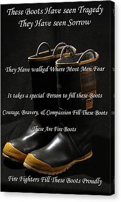 These Boots ... Canvas Print by Ken  Tucker