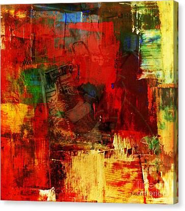 Profile Canvas Print - Things I Keep With Me by Fania Simon
