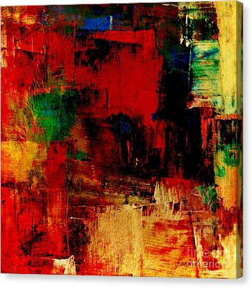 Things That Go On Inside Canvas Print by Fania Simon