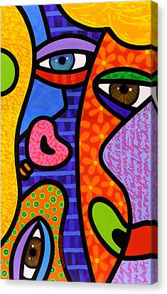 Third Eye Rising Canvas Print