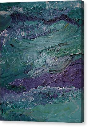 Canvas Print featuring the painting This And That by Kristine Bogdanovich