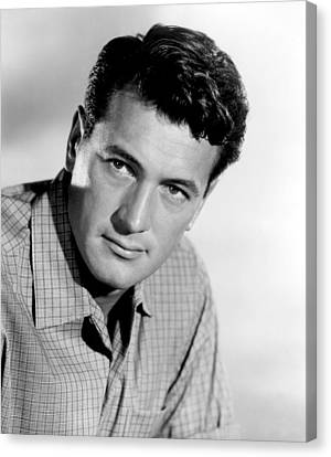 This Earth Is Mine, Rock Hudson, 1959 Canvas Print by Everett
