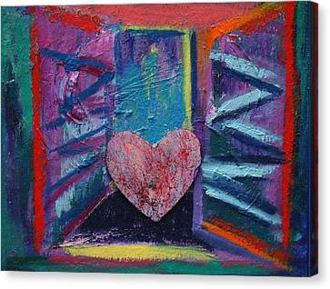 This Heart Wants Out Canvas Print by Karin Eisermann