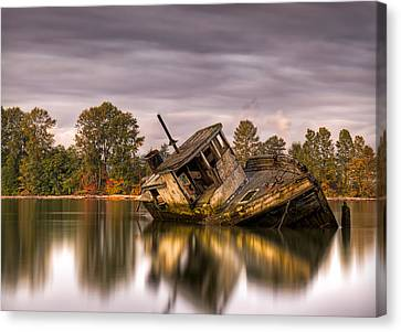 This Is British Columbia No.55 - Left To Die Canvas Print by Paul W Sharpe Aka Wizard of Wonders