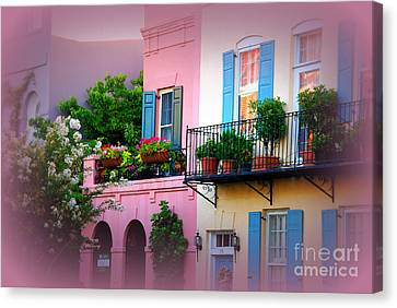 This Is Charleston South Carolina Canvas Print by Susanne Van Hulst