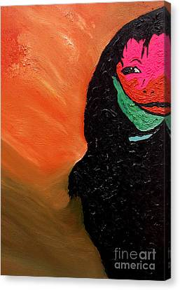 This Is It Canvas Print by Ayasha Loya