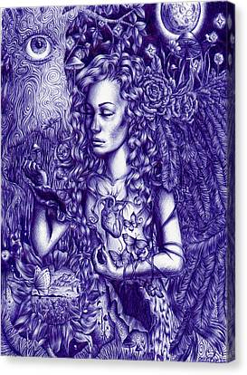 This Is Your Brain On Drugs Canvas Print by Callie Fink