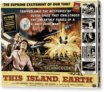 This Island, Earth, From Left Rex Canvas Print by Everett