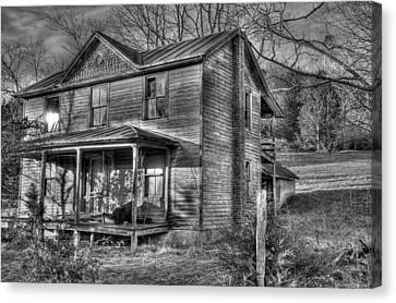 This Old House Canvas Print by Todd Hostetter