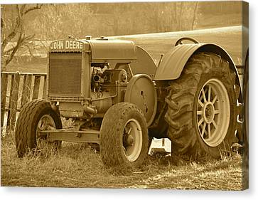 This Old Tractor Canvas Print
