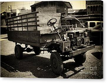 This Old Truck Canvas Print by Thanh Tran